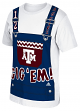 "Texas A&M Aggies Adidas NCAA ""Aggie Overalls"" Men's Short Sleeve T-Shirt"