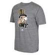 Wake Forest Demon Deacons Adidas NCAA Big Retro Men's Tri-Blend Premium T-Shirt