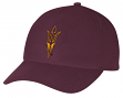 "Arizona State Sun Devils Adidas NCAA ""Basics"" Structured Adjustable Hat - Maroon"