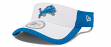 Detroit Lions New Era NFL 2015 Training Sideline Performance Visor - White