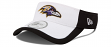 Baltimore Ravens New Era NFL 2015 Training Sideline Performance Visor - White