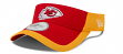 Kansas City Chiefs New Era NFL 2015 Training Sideline Performance Visor - Red