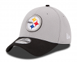 Pittsburgh Steelers New Era 39THIRTY 2015 Official Training Flex Hat - Graphite