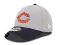 Chicago Bears New Era 39THIRTY 2015 Official Training Flex Fit Hat - Graphite