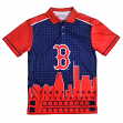 "Boston Red Sox MLB ""Thematic"" Skyline Men's Polo Shirt"