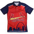 "St. Louis Cardinals MLB ""Thematic"" Skyline Men's Polo Shirt"