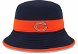 Chicago Bears New Era NFL 2015 Training Camp Sideline Bucket Hat - Navy