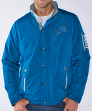 "Detroit Lions NFL G-III ""Sack"" Full Zip Concealed Hood Polyfill Jacket"