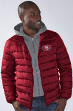 "San Francisco 49ers NFL G-III ""Three Point"" Heavyweight Detachable Hooded Jacket"