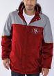"San Francisco 49ers NFL G-III ""Touchdown"" Systems 3-in-1 Heavyweight Jacket"