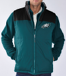"""Philadelphia Eagles NFL """"Tailgate"""" Systems 4-in-1 Heavyweight Performance Jacket"""