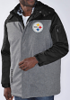 """Pittsburgh Steelers NFL G-III """"QB"""" Systems 3-in-1 Heavyweight Jacket & Camo Vest"""