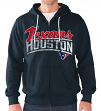 "Houston Texans NFL G-III ""Swingman"" Full Zip Hooded French Terry Sweatshirt"