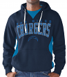 "San Diego Chargers NFL Men's G-III ""Play Action"" Pullover Hooded Sweatshirt"