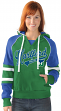 "Hartford Whalers Women's NHL G-III ""Shut Out"" Pullover Hooded Sweatshirt"