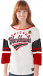 "Chicago Blackhawks Women's G-III NHL ""Playmaker"" 3/4 Sleeve Scoop Neck T-shirt"