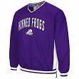 "TCU Horned Frogs NCAA ""Fair Catch"" Pullover Men's Jacket - Purple"