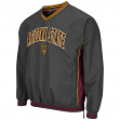"Arizona State Sun Devils NCAA ""Fair Catch"" Pullover Men's Jacket - Charcoal"