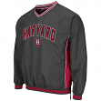 "Harvard Crimson NCAA ""Fair Catch"" Pullover Men's Jacket - Charcoal"