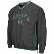 "Hawaii Warriors NCAA ""Fair Catch"" Pullover Men's Jacket - Charcoal"