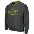 "Oregon Ducks NCAA ""Fair Catch"" Pullover Men's Jacket - Charcoal"