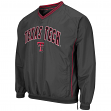 "Texas Tech Red Raiders NCAA ""Fair Catch"" Pullover Men's Jacket - Charcoal"