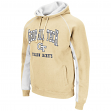 "Georgia Tech Yellowjackets NCAA ""Crest"" Pullover Hooded Men's Sweatshirt"