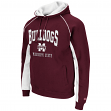 "Mississippi State Bulldogs NCAA ""Crest"" Pullover Hooded Men's Sweatshirt"