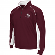 "Mississippi State Bulldogs NCAA ""At the Crest"" 1/4 Zip Pullover Men's Sweatshirt"