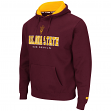 Arizona State Sun Devils NCAA Zone II Pullover Hooded Men's Sweatshirt - Maroon