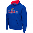"Kansas Jayhawks NCAA ""Zone II"" Pullover Hooded Men's Sweatshirt - Blue"