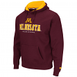 Minnesota Golden Gophers NCAA Zone II Pullover Hooded Men's Sweatshirt - Maroon