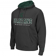 Michigan State Spartans NCAA Zone II Pullover Hooded Men's Sweatshirt - Charcoal