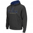 "Navy Midshipmen NCAA ""Zone II"" Pullover Hooded Men's Sweatshirt - Charcoal"