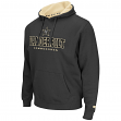 "Vanderbilt Commodores NCAA ""Zone II"" Pullover Hooded Men's Sweatshirt - Charcoal"