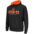 "Oklahoma State Cowboys NCAA ""Zone II"" Pullover Hooded Men's Sweatshirt - Black"