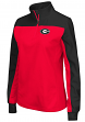 "Georgia Bulldogs Women's NCAA ""Joust"" 1/4 Zip Colorblocked Sweatshirt"