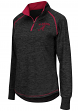 "Alabama Crimson Tide Women's NCAA ""Bikram"" 1/4 Zip Long Sleeve Top Shirt"