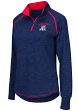 "Arizona Wildcats Women's NCAA ""Bikram"" 1/4 Zip Long Sleeve Top Shirt"