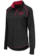 "Arkansas Razorbacks Women's NCAA ""Bikram"" 1/4 Zip Long Sleeve Top Shirt"