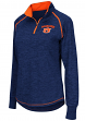 "Auburn Tigers Women's NCAA ""Bikram"" 1/4 Zip Long Sleeve Top Shirt"