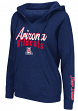 "Arizona Wildcats Women's NCAA ""Cosmic"" Hooded Vintage Sweatshirt"