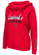"Louisville Cardinals Women's NCAA ""Cosmic"" Hooded Vintage Sweatshirt"
