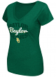 "Baylor Bears Women's NCAA ""Gamma"" V-neck Dual Blend T-Shirt"