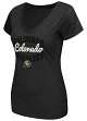 "Colorado Buffaloes Women's NCAA ""Gamma"" V-neck Dual Blend T-Shirt"