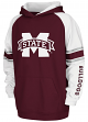 "Mississippi State Bulldogs Youth NCAA ""Buttonhook"" Pullover Hooded Sweatshirt"