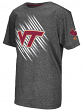 "Virginia Tech Hokies NCAA ""Position"" Poly Charcoal Youth T-Shirt"