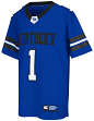 "Kentucky Wildcats NCAA Youth ""Spike It"" Football Jersey"