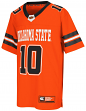 "Oklahoma State Cowboys NCAA Youth ""Spike It"" Football Jersey"