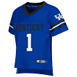 "Kentucky Wildcats NCAA Toddler ""Spike It"" Football Jersey"